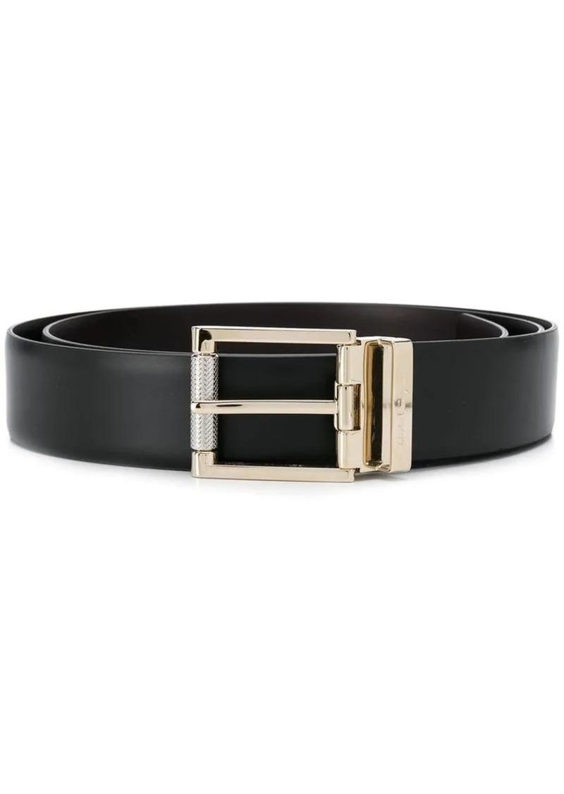Ferragamo gold-tone buckle belt