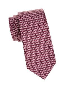 Ferragamo Hangers Silk Tie
