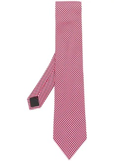 Ferragamo heart print tie