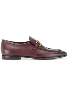 Ferragamo horsebit detail loafers