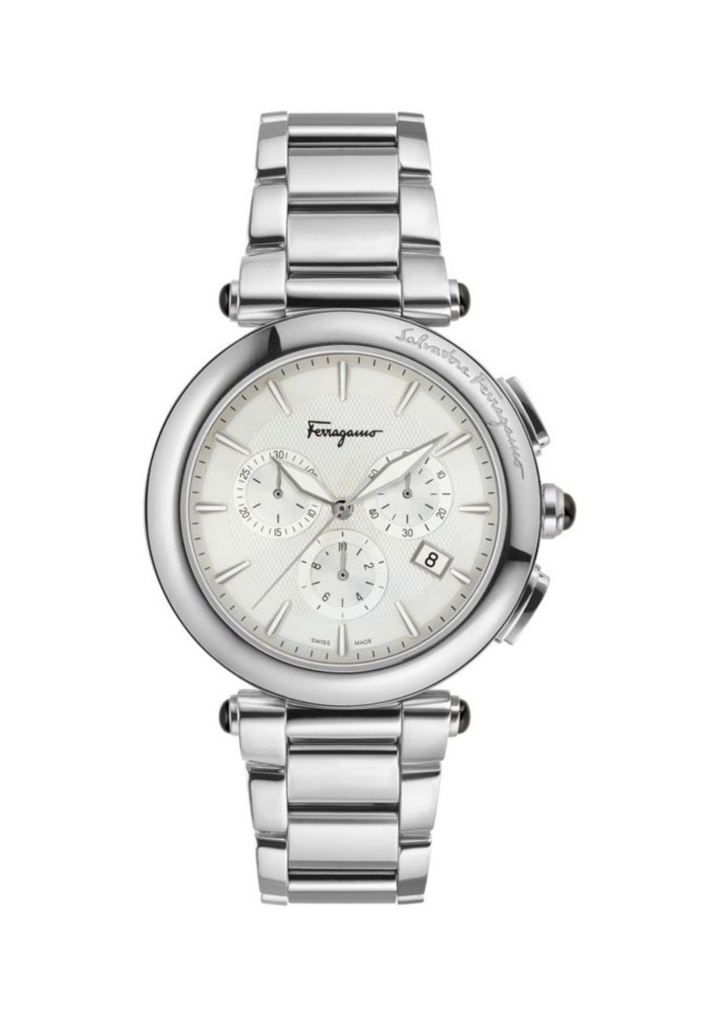 Ferragamo Idillio Stainless Steel Chronograph Watch