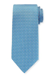 Ferragamo Interlocking-Chain Silk Tie