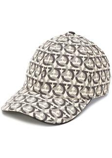 Ferragamo interlocking Gancini print baseball cap