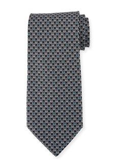 Ferragamo Interlocking Gancini Silk Tie