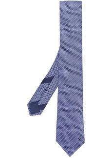 Ferragamo interwoven pattern tie