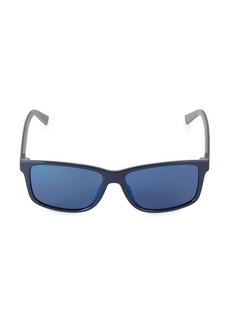 Ferragamo Italian Lifestyle 52MM Rectangular Sport Sunglasses