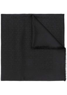Ferragamo jacquard Gancini shawl
