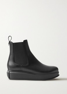 Ferragamo Kay Leather Chelsea Boots
