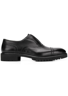 Ferragamo laceless oxford shoes