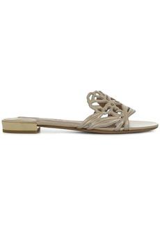 Ferragamo laser cut sandals