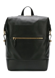 Ferragamo leather backpack