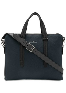 Ferragamo leather laptop bag