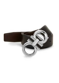 Ferragamo Reversible & Adjustable Gancini Belt
