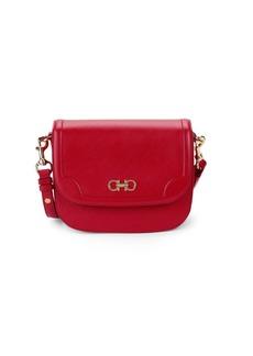 Ferragamo Leather Saddle Shoulder Bag