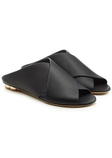 Ferragamo Leather Sandals