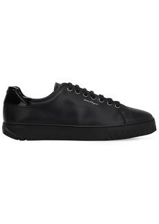 Ferragamo Leather Sneakers