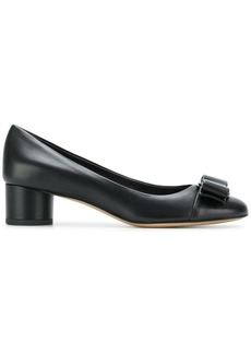 Ferragamo leather Vara bow pumps