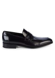 Ferragamo Lionel Leather Loafers