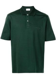 Ferragamo logo-embroidered polo shirt