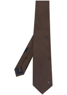 Ferragamo logo embroidered tie