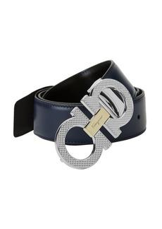 Ferragamo Logo Leather Belt