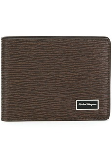 Ferragamo logo plaque bi-fold wallet