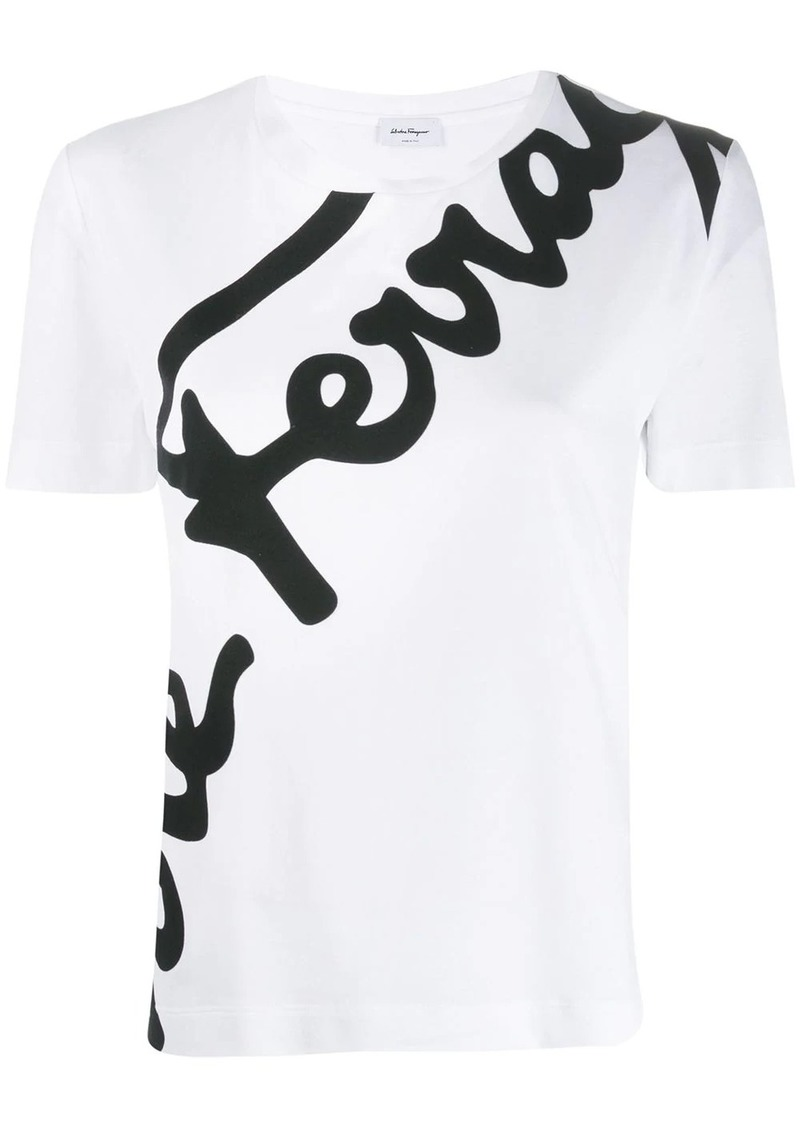 Ferragamo logo print T-shirt