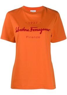 Ferragamo logo-print T-shirt