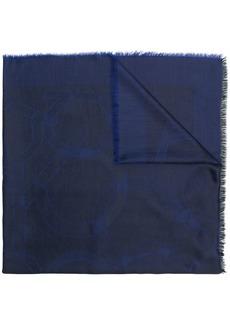 Ferragamo logo printed shawl