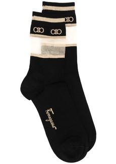 Ferragamo logo socks