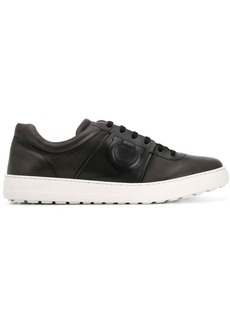 Ferragamo low top logo sneakers
