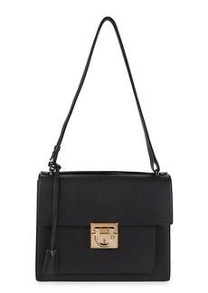 Ferragamo Marisol Leather Shoulder Bag