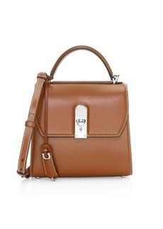 Ferragamo Medium Boxyz Leather Top Handle Bag
