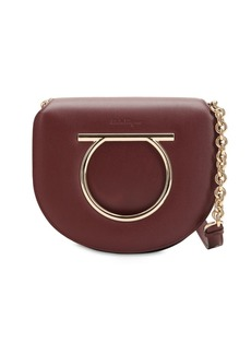 Ferragamo Medium Vela Leather Shoulder Bag