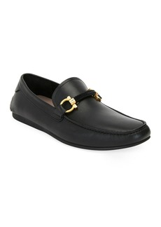 Ferragamo Men's Achille Driver Shoes