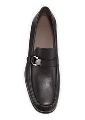 Ferragamo Men's Adam Leather Gancio Loafers