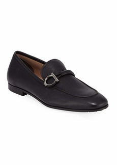 Ferragamo Men's America Dress Calfskin Loafers