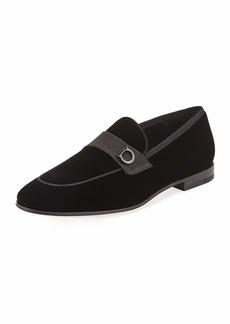 Ferragamo Men's Andrea Velvet Loafers