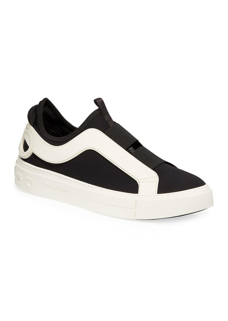 Ferragamo Men's Answer Slip-On Low-Top Sneakers