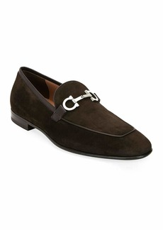 Ferragamo Men's Ascona 2 Suede Loafers
