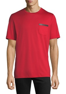 Ferragamo Men's Cotton Sateen T-Shirt