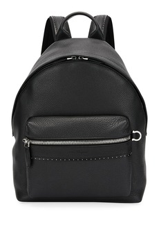 Ferragamo Men's Firenze Grained Leather Backpack