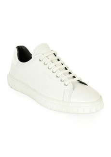 Ferragamo Men's Leather Low-Top Sneakers