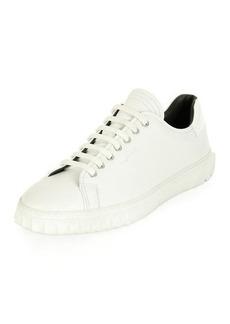 Ferragamo Men's Leather Low-Top Sneakers
