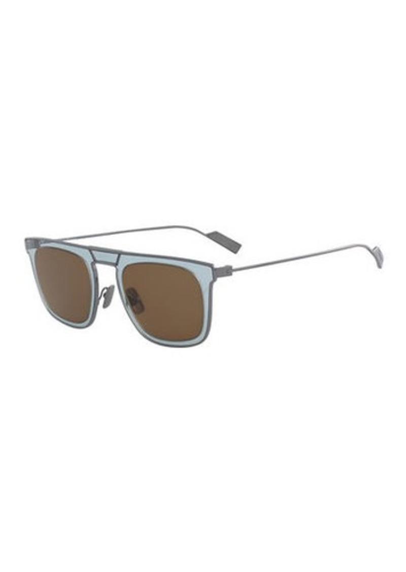 Ferragamo Men's New Generation Two-Tone Sunglasses