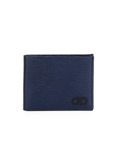 Ferragamo Men's Revival Gancini Bi-Fold Leather Wallet