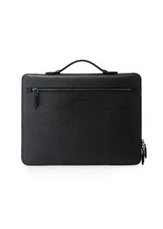 Ferragamo Men's Revival Textured Leather Portfolio Case