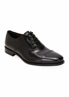 Ferragamo Men's Seul Leather Oxford Shoes