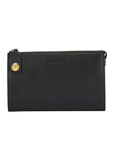Ferragamo Men's Soft Calfskin Travel Document Holder