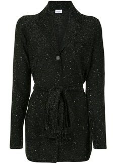 Ferragamo metallic detailed fitted jacket